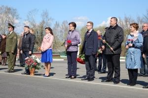 Митинг-реквием «БОЛЬ МОЕЙ ЗЕМЛИ», посвящённый 34-й годовщине  Чернобыльской трагедии