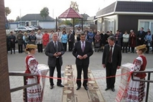 Открытие городской бани в г.п.Краснополье - фотофакт