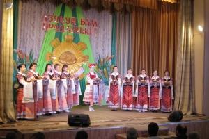 Торжественное собрание по подведению итогов социально-экономического развития Краснопольского района за 2014 год