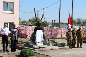 Открытие памятника, посвящённого памяти участников войны в Афганистане